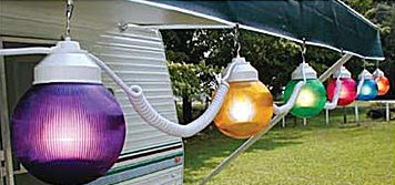 RV Patio Lights in many styles - PPL Motor Homes