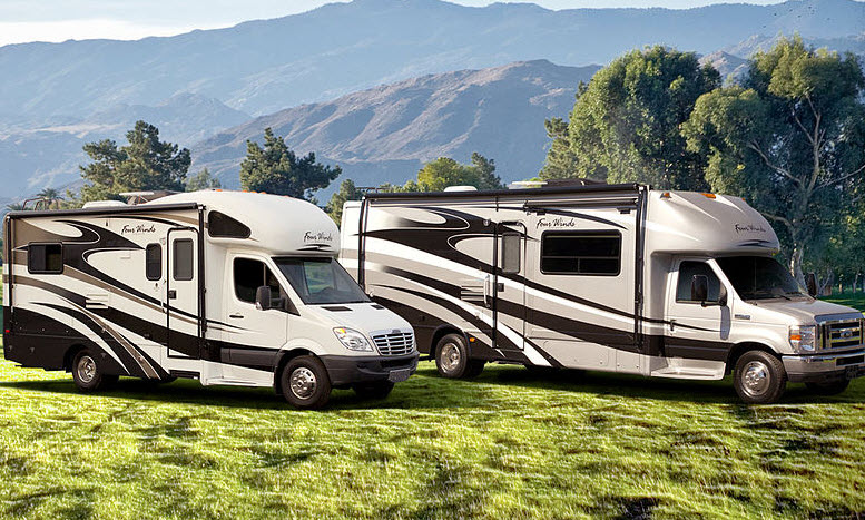 New Motorhome Sales Up